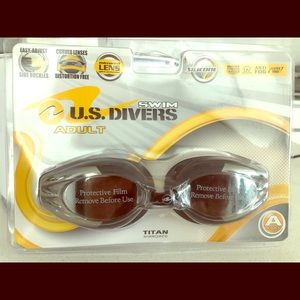 U.S. Diver Swim Goggles Brand New